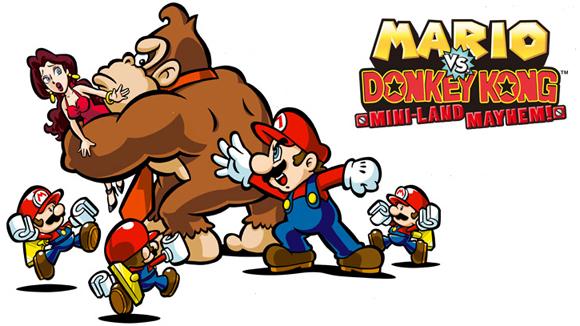 Annunciato Mario vs. Donkey Kong: Mini-Land Mayhem