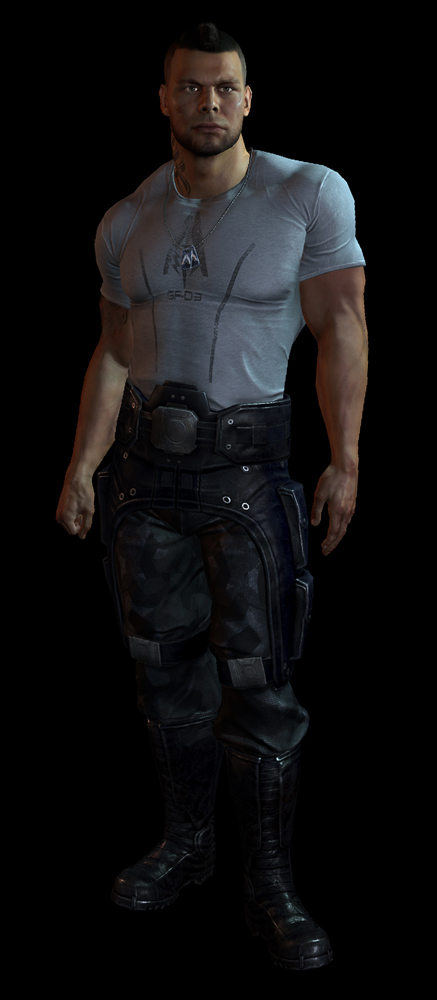 Mass Effect 3: un'immagine per James Vega