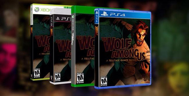 The Wolf Among Us: annunciata l'edizione retail per console