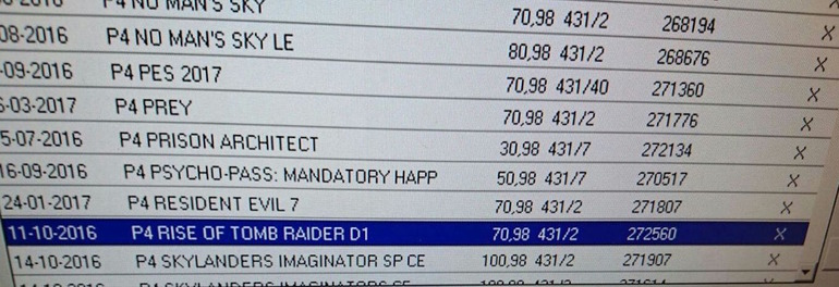 Rise of the Tomb Raider per PS4 uscirà l'11 ottobre?