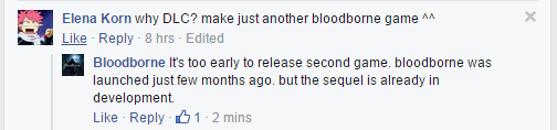 Bloodborne 2 è già in sviluppo?