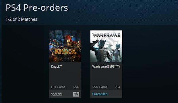Sony apre i preordini digitali dei giochi PlayStation 4