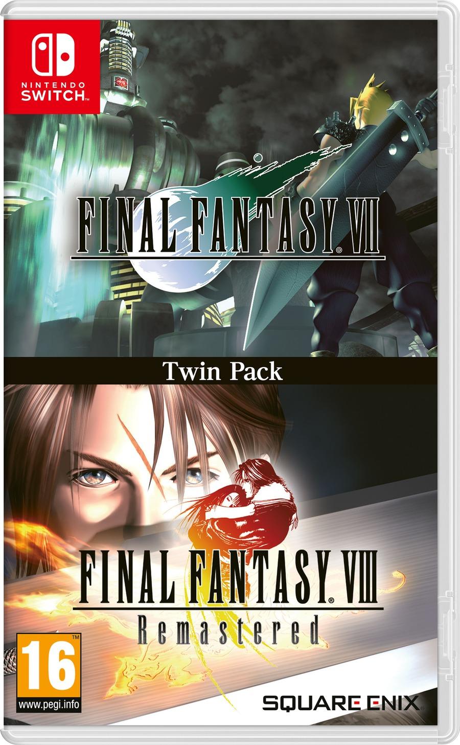 Final Fantasy 7/8 Twin Pack per Switch in arrivo a dicembre insieme a FF8 Remaster per PS4