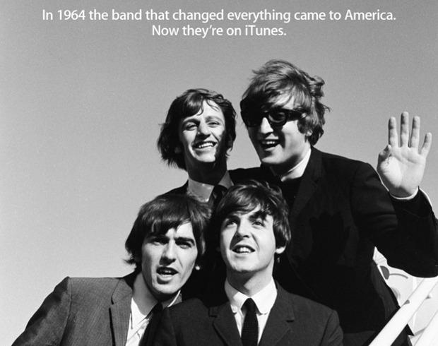 I Beatles arrivano su Itunes! Per i boomaker sarà boom!