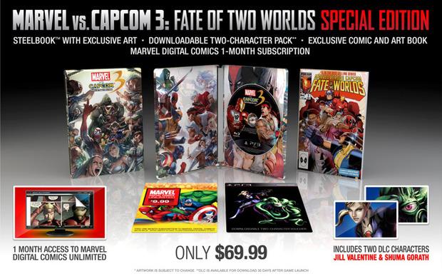 Marvel vs Capcom 3, Gamestop USA mostra una Collector's Edition