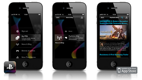 Sony annuncia la PlayStation App per iPhone e Android