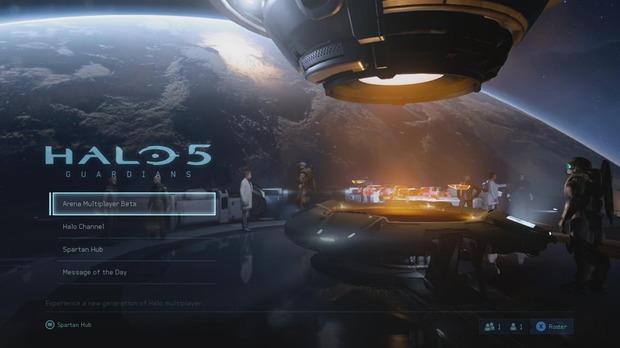 Halo 5 Guardians: nuove immagini tratte dai menu della beta