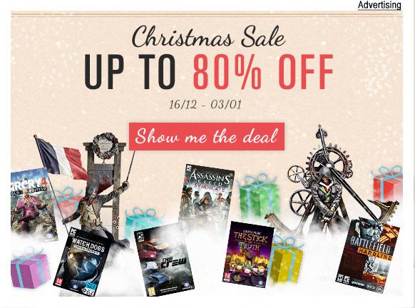 Ubisoft anticipa Babbo Natale con le offerte natalizie su Uplay Shop