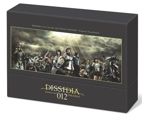 Dissidia Duodecim Final Fantasy: limited edition musicale in Giappone