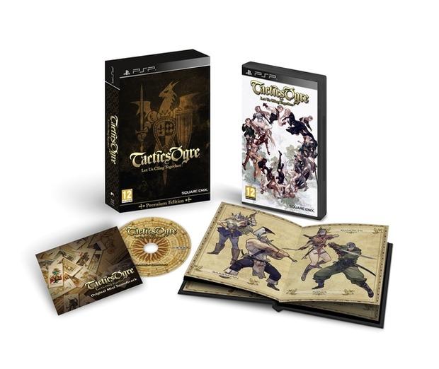 Tactics Ogre: immagine della collector's edition europea