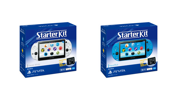 PlayStation Vita Starter Kit, nuovo bundle annunciato per il Giappone