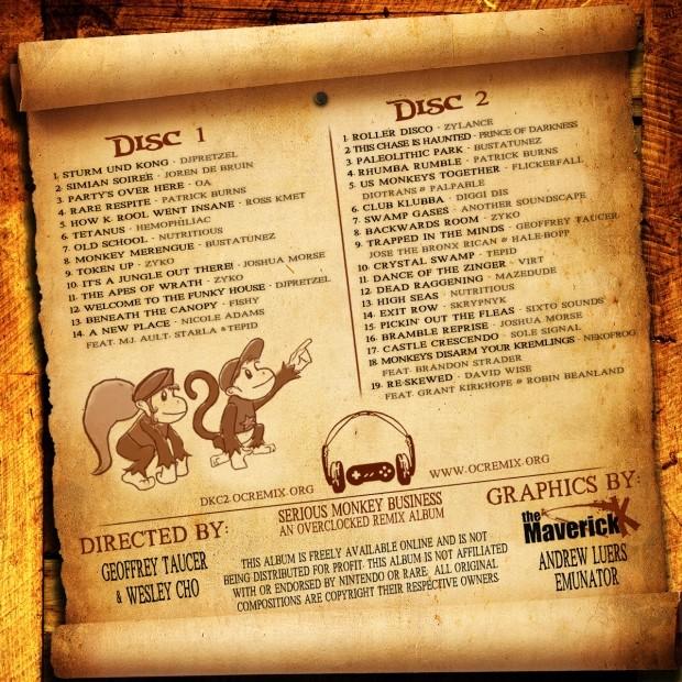 Le musiche di Donkey Kong Country 2 rivivono con un album remix scaricabile gratuitamente