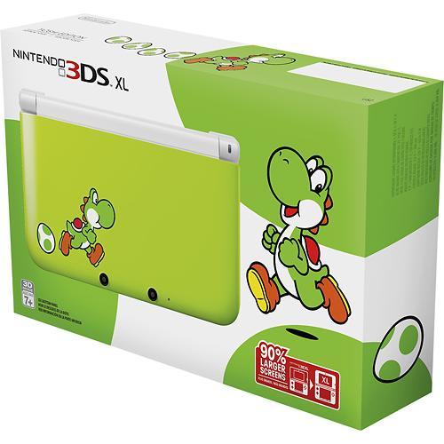 Yoshi's New Island: immagini del Nintendo 3DS XL personalizzato