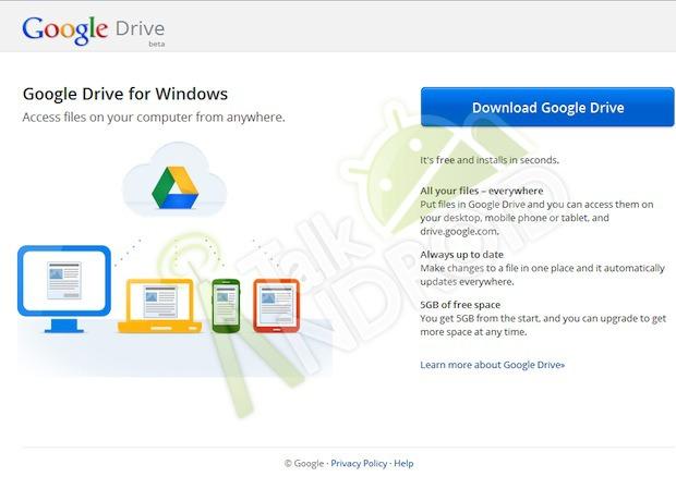 Google Drive è vicino