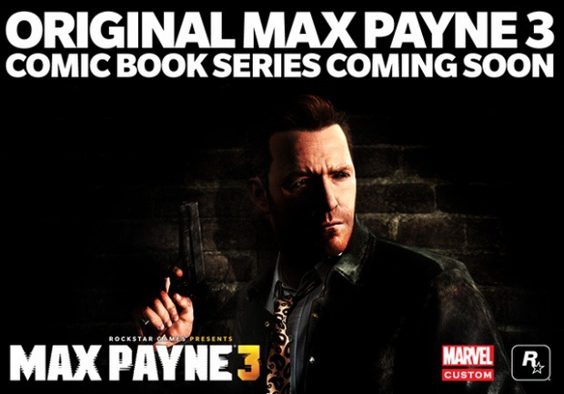 Max Payne 3: una graphic novel firmata Marvel