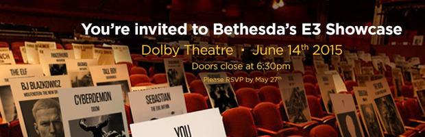 L'invito E3 di Bethesda contiene riferimenti a Doom, Wolfenstein e Dishonored ma non a Fallout - Notizia