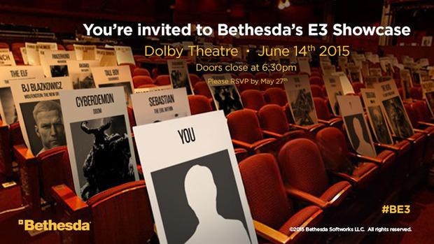 L'invito E3 di Bethesda contiene riferimenti a Doom, Wolfenstein e Dishonored ma non a Fallout