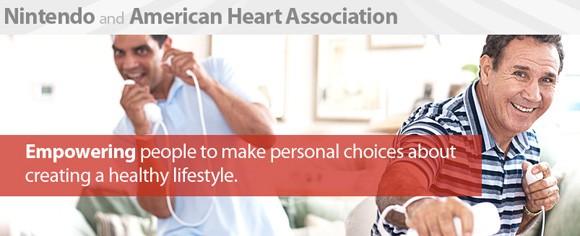 Nintendo firma un accordo con The American Heart Association