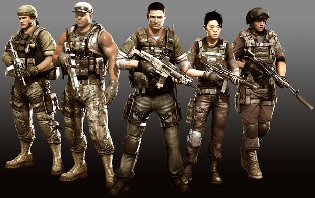 SOCOM 4, la squadra al completo