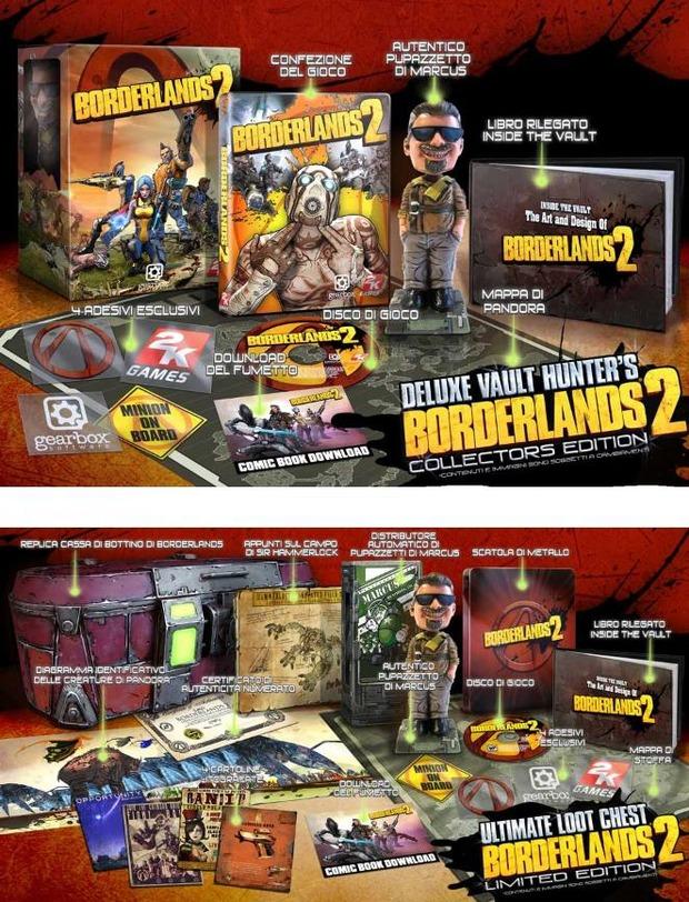 Borderlands 2: annunciate le edizioni da collezione