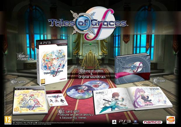 Tales of Graces F: annunciata la data di uscita e la Day One Edition