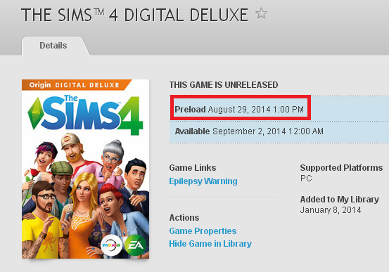 The Sims 4: pre-load disponibile dal 29 agosto