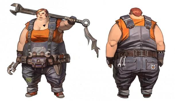Borderlands 2: con il personaggio di Ellie, Gearbox va contro lo stereotipo delle donne in un videogioco