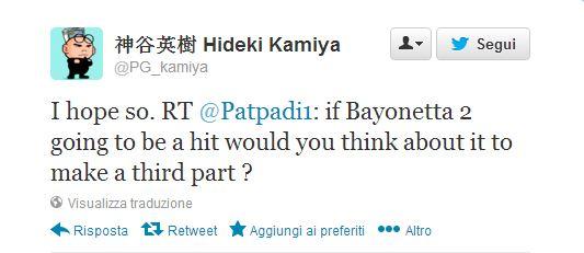 Bayonetta: possibile un terzo capitolo