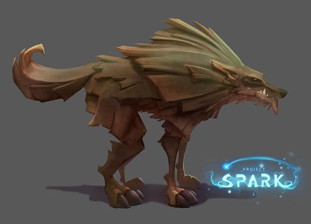 Project Spark: i lupi si mostrano in artwork
