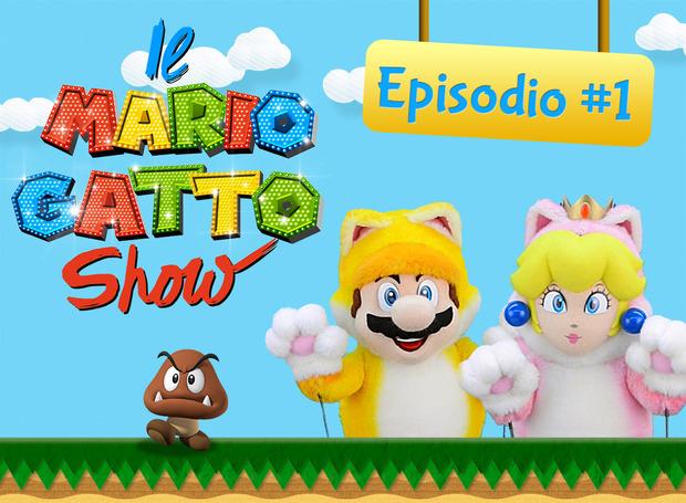 Nintendo presenta il Mario Gatto Show per bambini