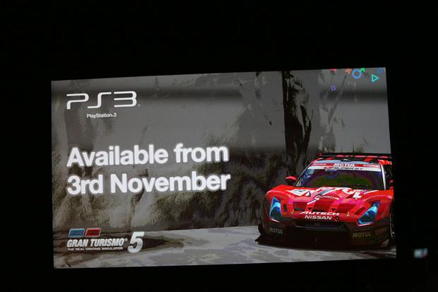 Data di uscita europea per Gran Turismo 5