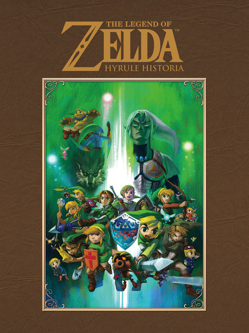 Il libro 'The Legend of Zelda:Hyrule Historia' annunciato in America