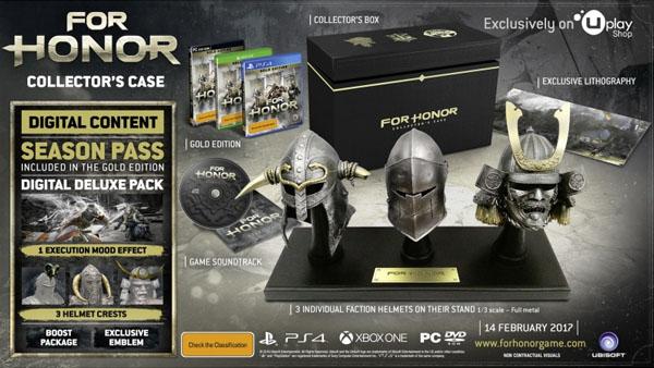 Ubisoft annuncia la Collector's Case Edition di For Honor