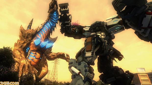 Earth Defense Force 4.1 avrà scontri tra mostri giganti e robot
