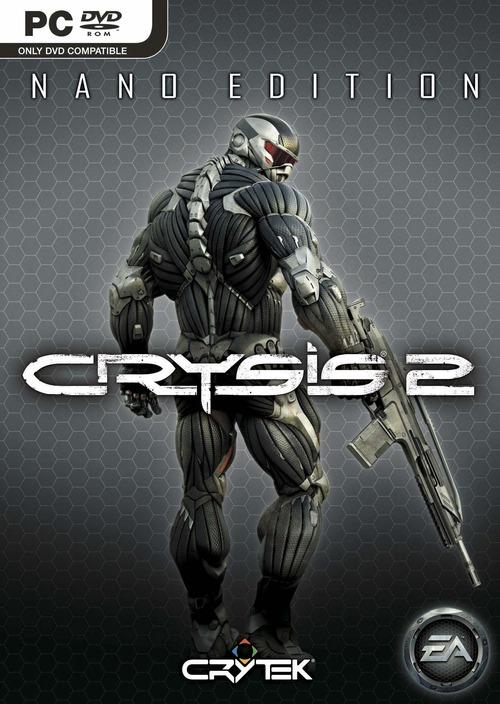 Crysis 2, le copertine ufficiali per la Stardard, la Limited e la Nano Edition
