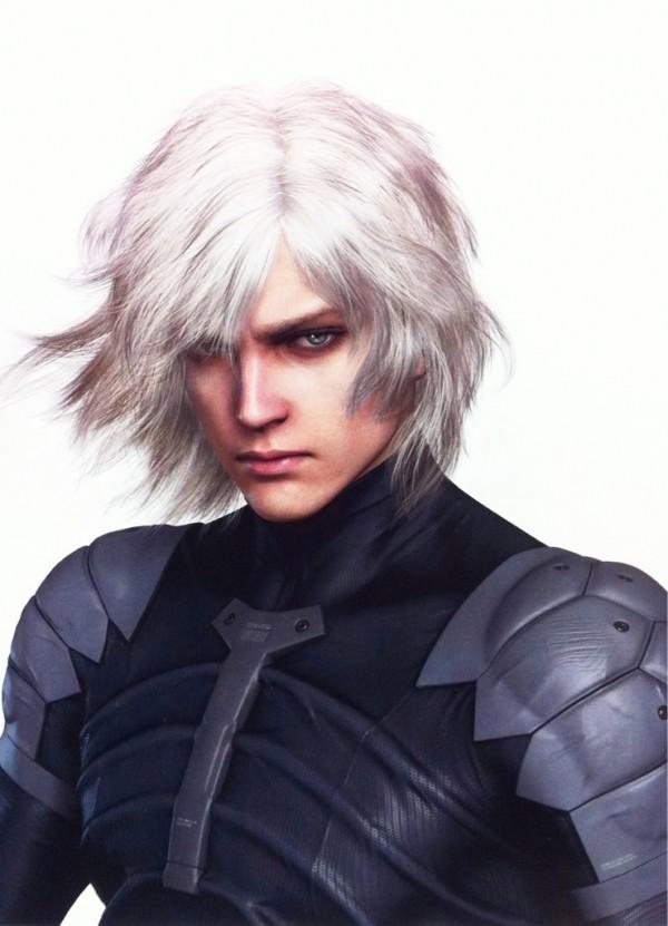 Kojima pubblica un artwork di Raiden