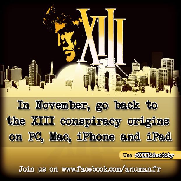 Annunciato XIII Lost Identity, nuovo videogioco tratto dal fumetto XIII