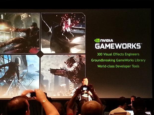 NVIDIA presenta GameWorks