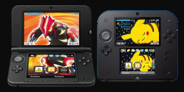 Nintendo 3DS: In arrivo i temi dedicati a Pokemon e Sonic Boom