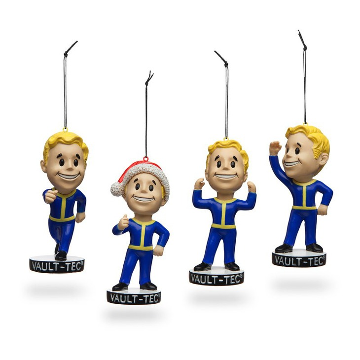 Fallout 4: in vendita le decorazioni natalizie dedicata al Vault Boy