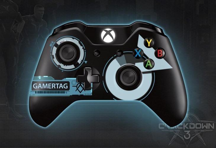 Diamo uno sguardo al controller Xbox One ispirato a Crackdown 3