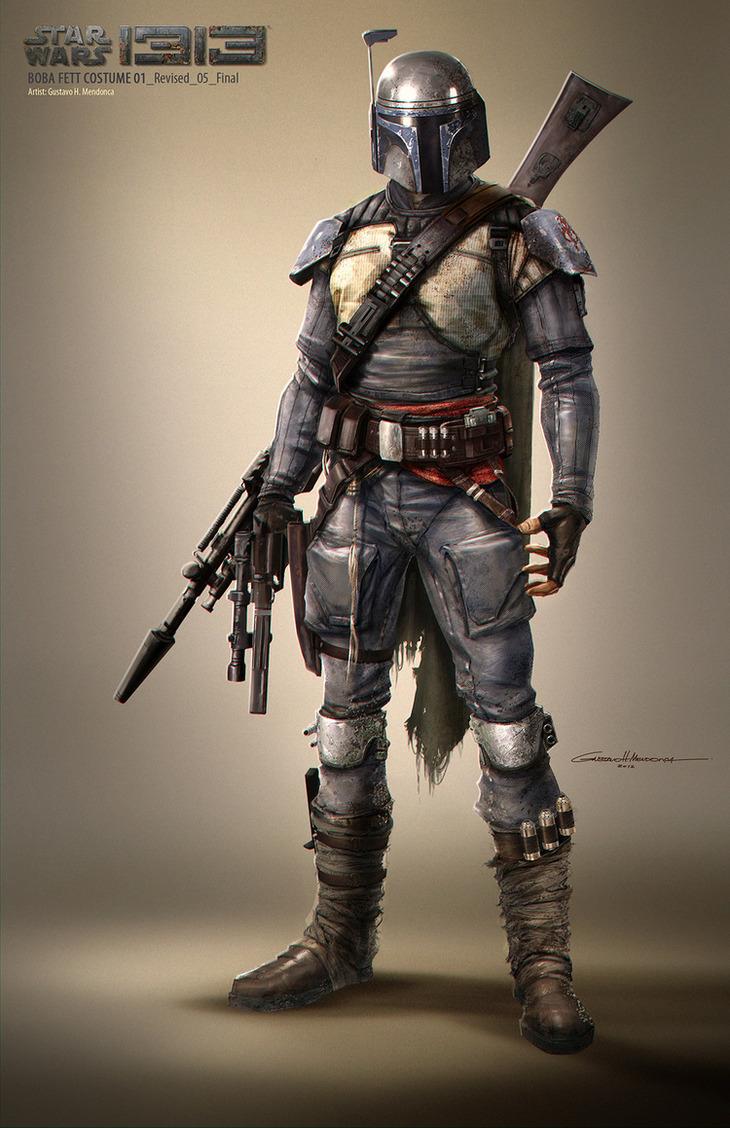 Star Wars 1313: emergono in rete nuove immagini concept