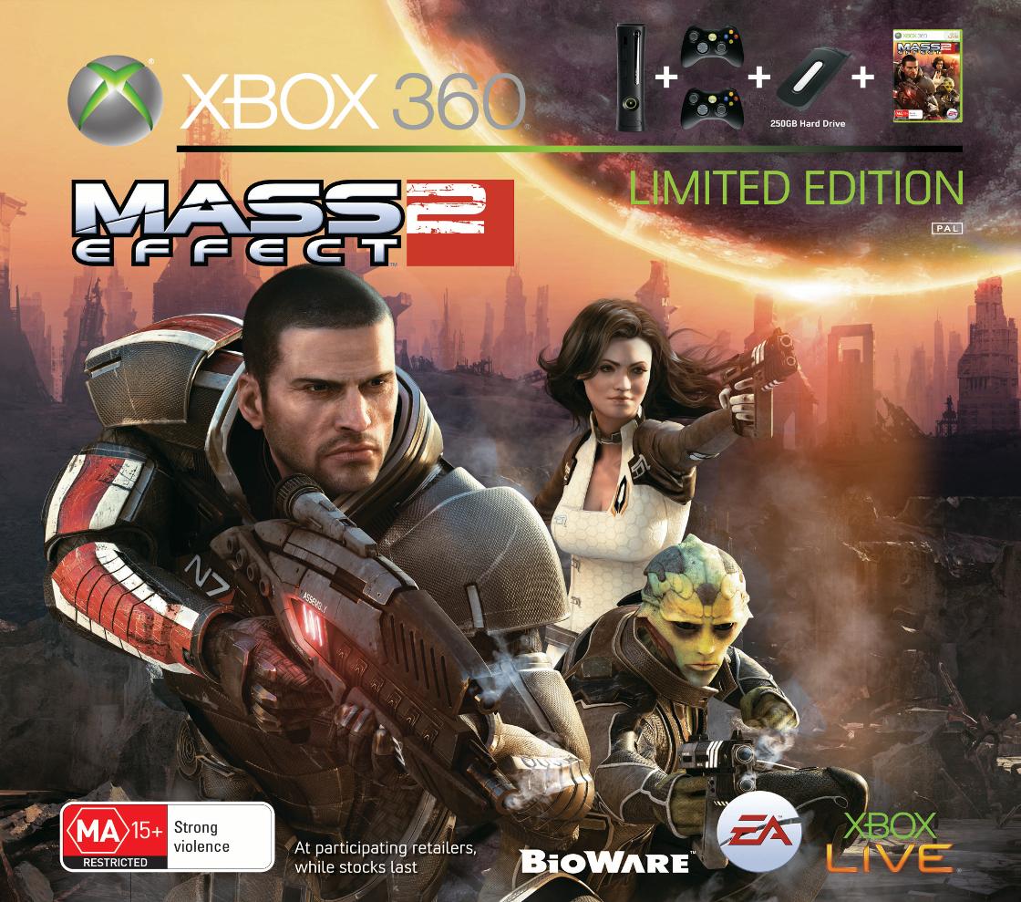 Annunciato in Australia un bundle console di Mass Effect 2