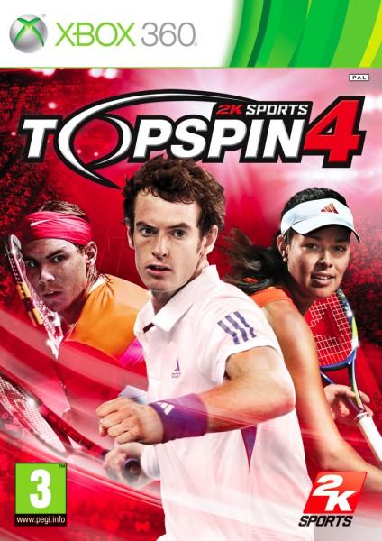Top Spin 4: cover e data europea