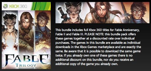 Fable Trilogy appare sul sito ufficiale di Xbox