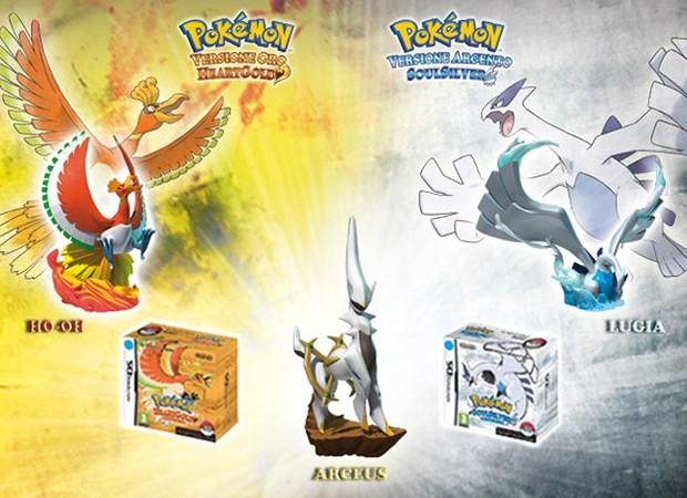 Pokemon Heart Gold / Soul Silver, Bonus GameStop per chi preordina