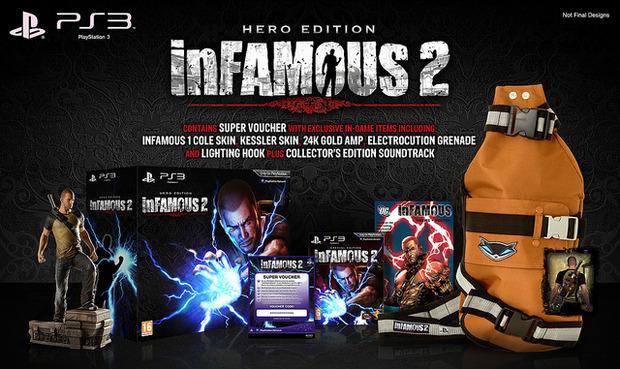 InFAMOUS 2: confermate le Special e la Limited Edition