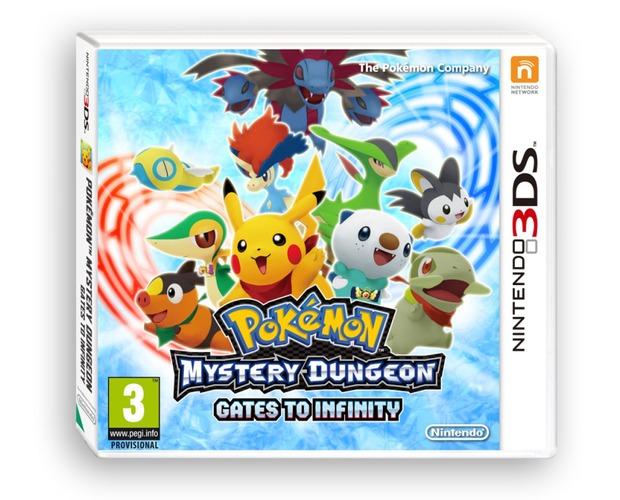Pokemon Mystery Dungeon: I Portali sull'Infinito, ecco la boxart europea