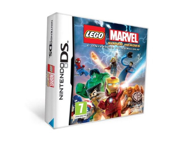 LEGO Marvel Super Heroes: L'Universo in Pericolo disponibile per Nintendo DS