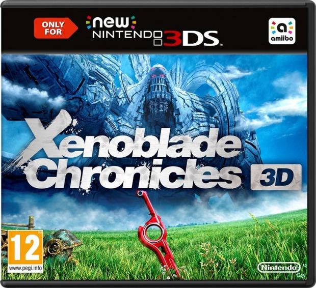 Svelata la boxart europea e il peso di Xenoblade Chronicles 3D